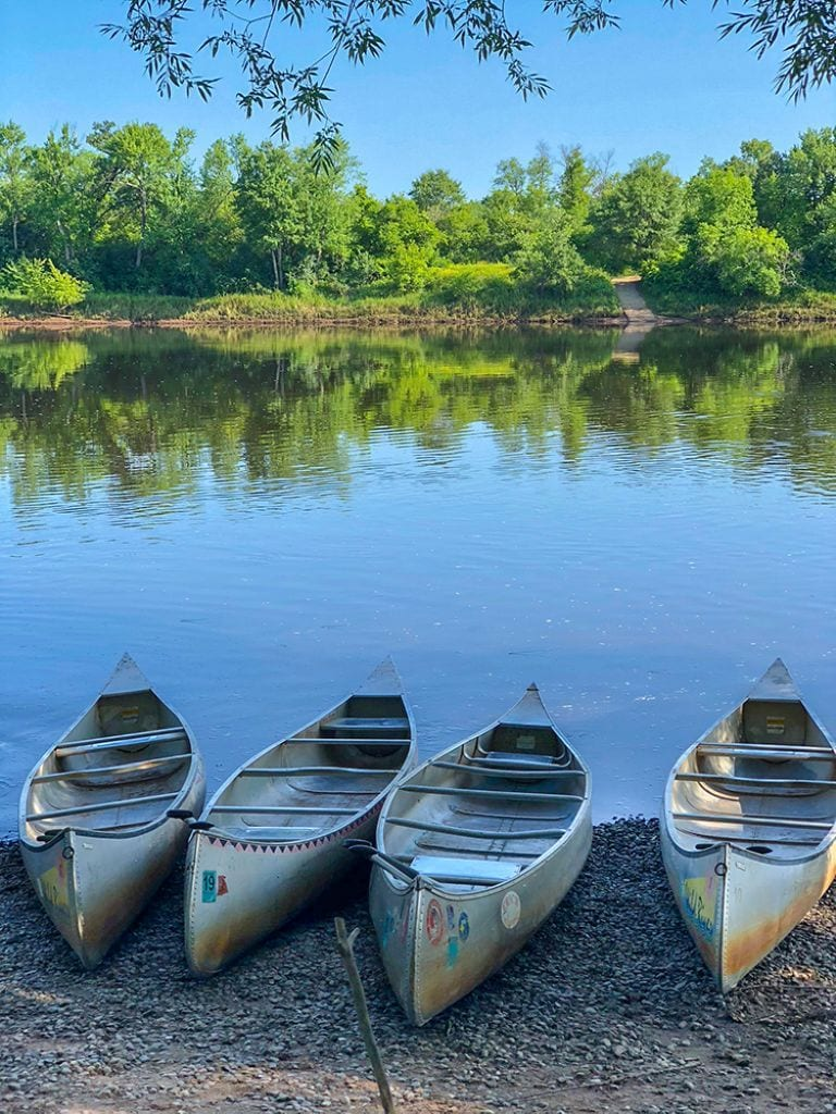 Canoeing + Camping on the St. Croix River