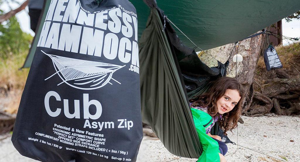 best hammock for kids Hennessy Hammock cub asym zip kids hammock