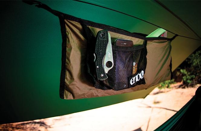 ENO Talon Ridgeline hammock organizer