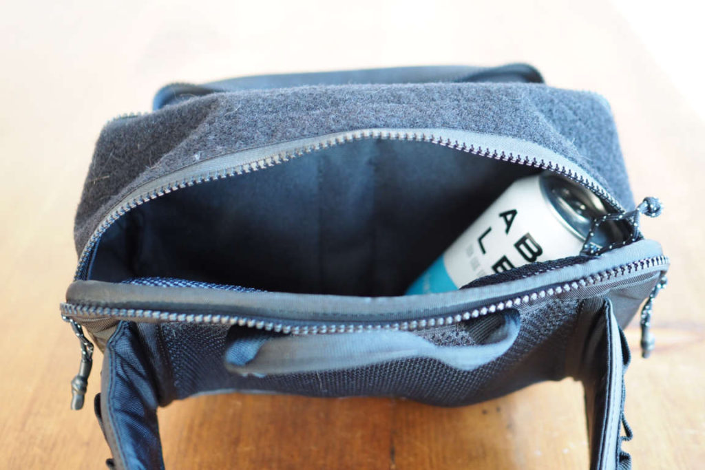 The North Face Explore BLT Fanny Pack main pocket open