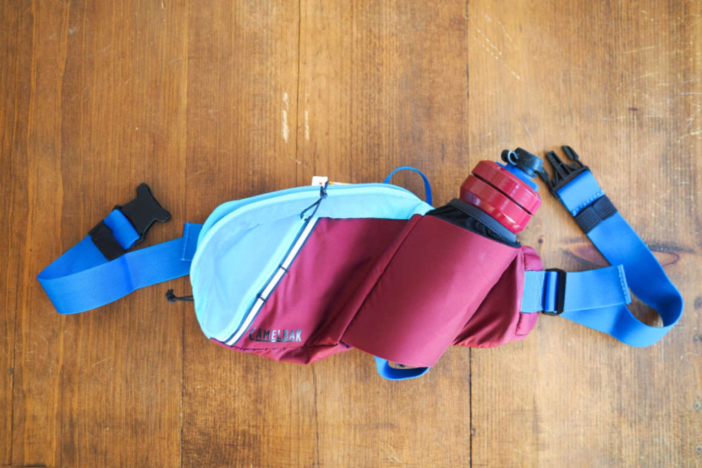 Camelbak Podium Flow Belt fanny pack from above