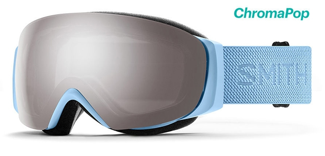 Smith I/O Mag Snow Goggles with blue strap