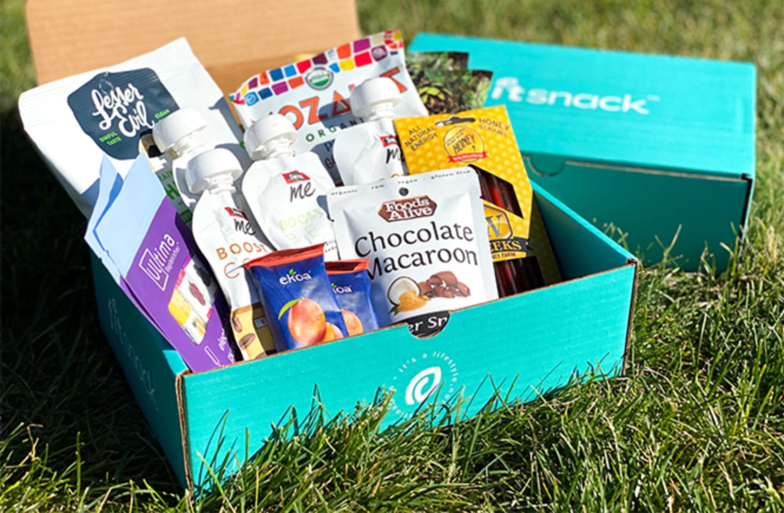 Fit Snack — A Monthly Subscription Service Serving Up Healthy Treats