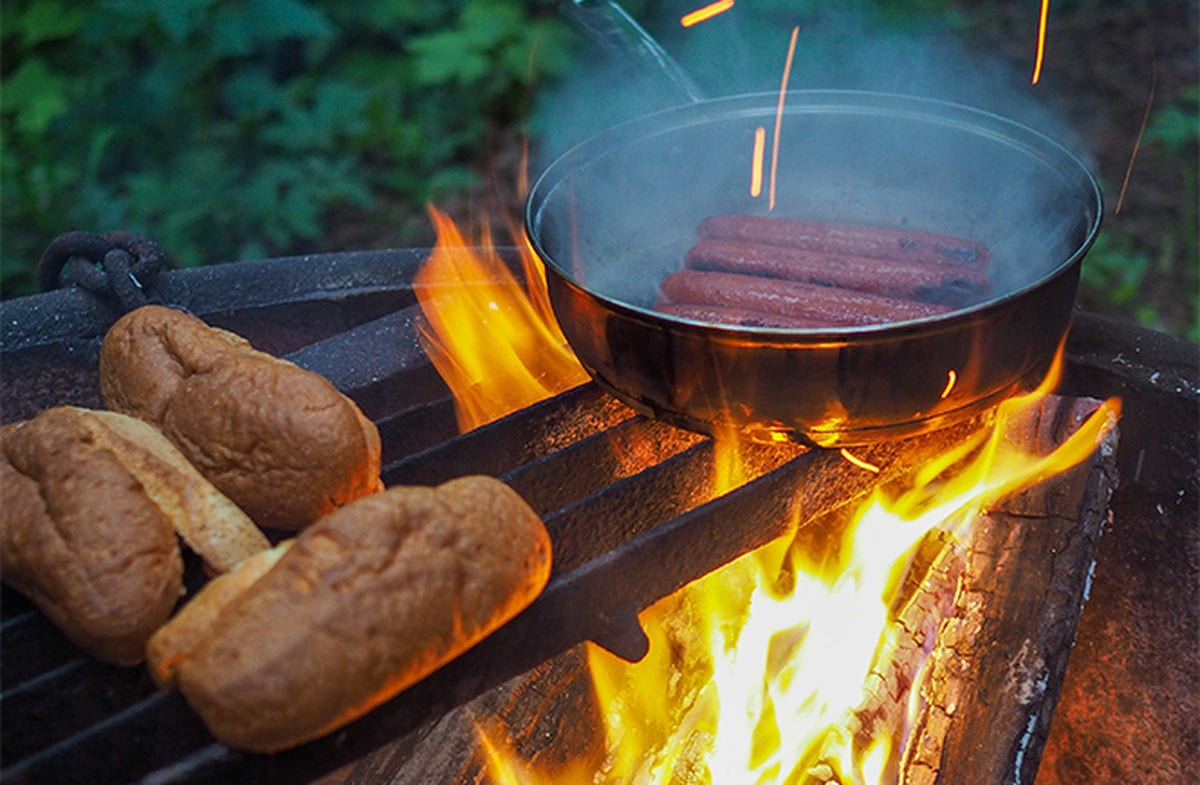 Secrets to Washing Dishes While Camping