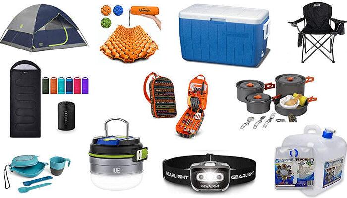 Amazon Camping Essentials Under $70